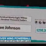宝くじで高額当選333億円!アメリカのトラック運転手の正体は?